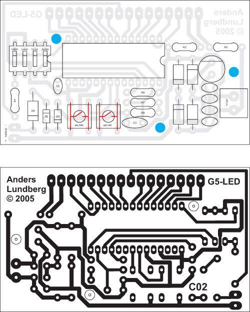 com digital clock and temperature block diagram and schematic